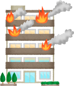 apartment-on-fire