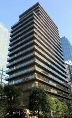 西新宿パークサイドタワーの建物