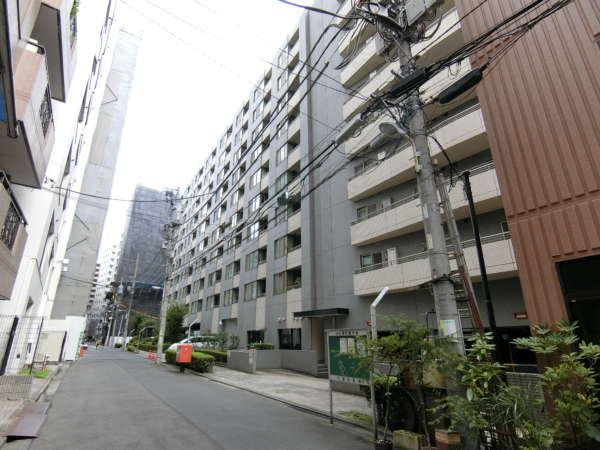 コスモ上野パークサイドシティ外観共用部1