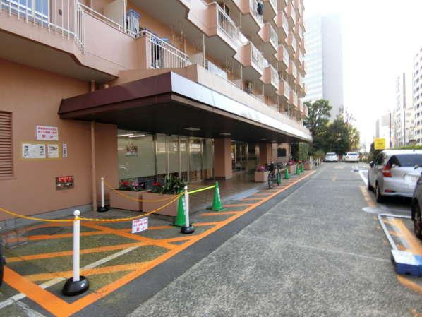 築地永谷コーポラス外観・共用部5