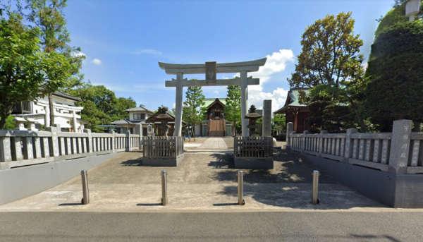ライオンズマンション西葛西第3-宇喜田稲荷神社