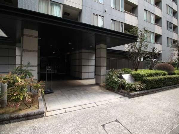 コスモ上野パークサイドシティエントランス1