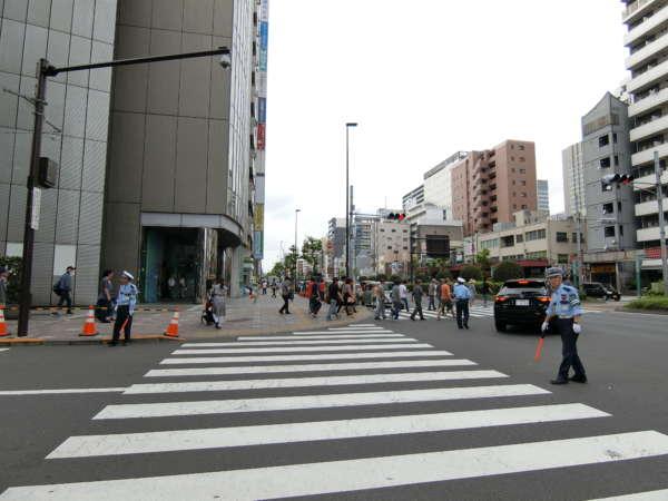 シティポート錦糸町2アプローチ2