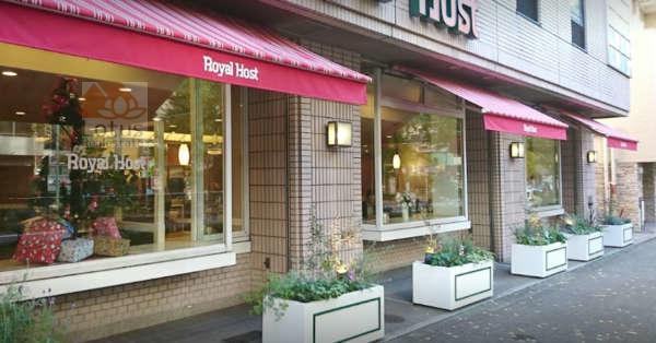 ロイヤルホスト音羽店