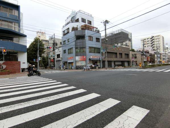 菊川パークホームズアプローチ1