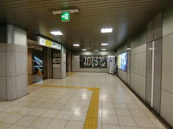 クレベール西新宿アプローチ2-2