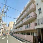 新宿区早稲田鶴巻町の場所(外観)