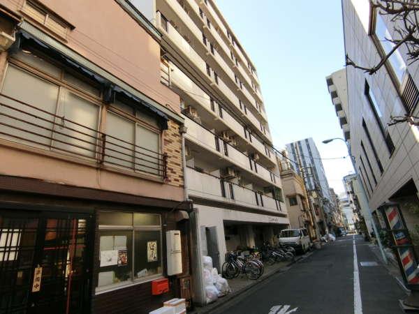 築地のオフィス・マンション・店舗。ホテル