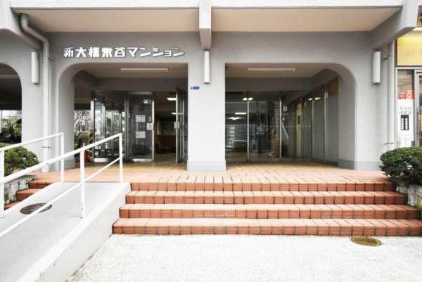 新大橋永谷マンションエントランス5