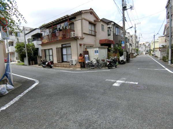 豊玉北の住宅地
