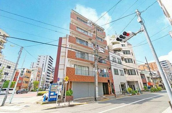 モナークマンション上野外観1