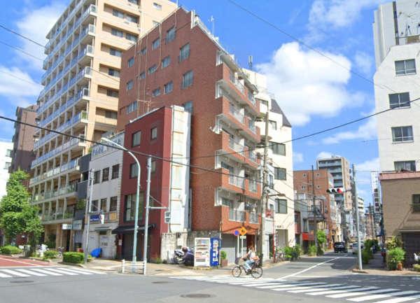 モナークマンション上野外観2