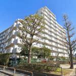 足立区青井5丁目の場所(外観)