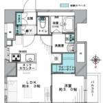 方南町セントラルマンション(1LDK)※図面と現況に相違がある場合は現況を優先します。(間取)