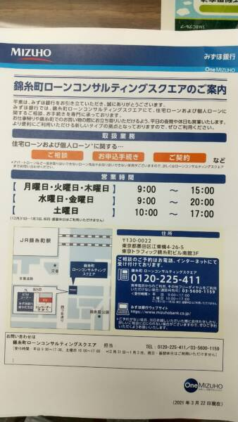 みずほ銀行錦糸町